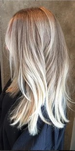 sandy and butter blonde highlights