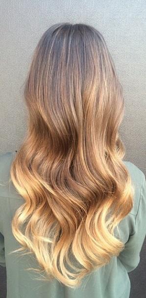 brunette ombre 2015