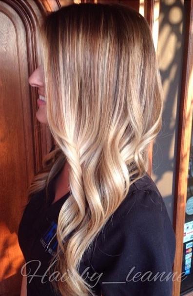 walnut blonde hair color