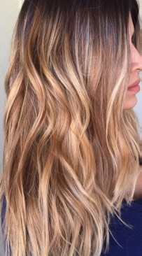 caramel bronde hair color