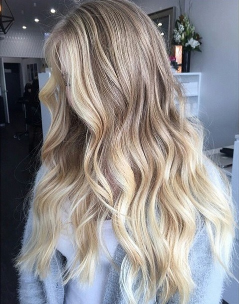 natural blonde highlights - victorias secret hair