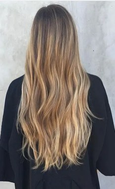 beach blonde hair