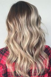 dark blonde hair color