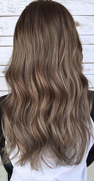 hair color idea - smoked walnut brunette