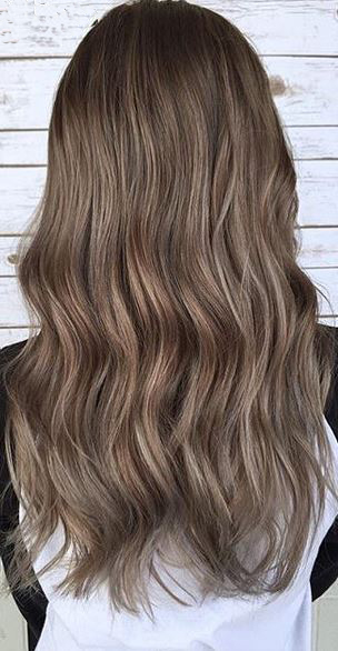 hair color idea - smoked walnut brunette