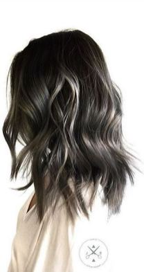 trendy hair color idea - smokey ombre