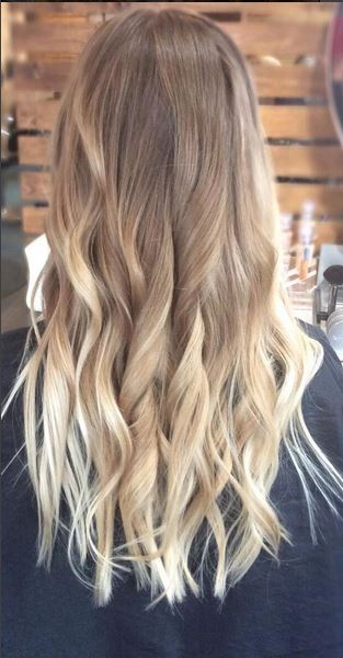 bronde to blonde balayage ombre