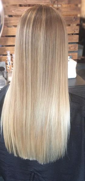superfine blonde highlights