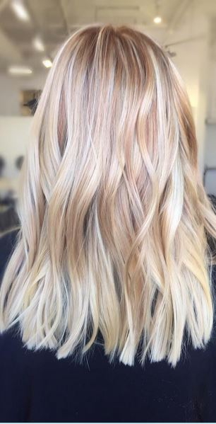 blonde hair color trends 2016