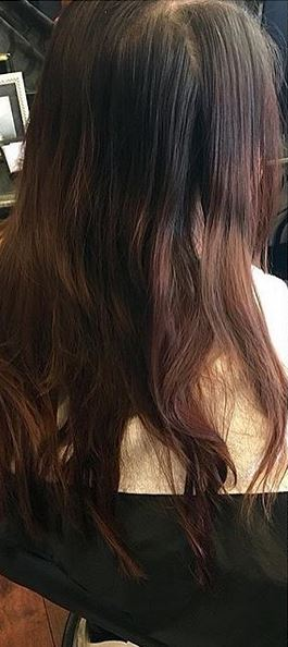 hair color correction brunette