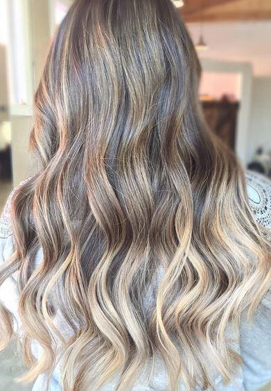 beautiful brunette ombre