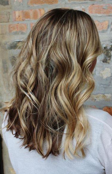 gorgeous bronde hair color