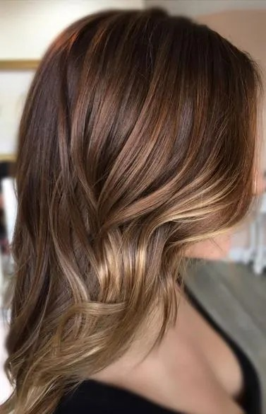 warm milk chocolate brunette hair color