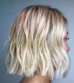 textured blonde hair color