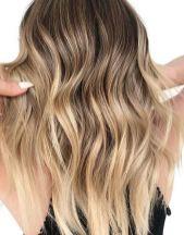 beautiful bronde hair color melt