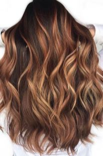 whiskey hair color - try this