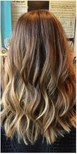 natural looking highlights for brunettes