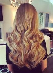 flat iron curls