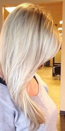 baby blonde highlights