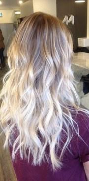 platinum blonde ombre