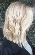 beautiful blonde babylights