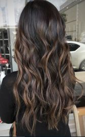 beautiful espresso brunette hair color