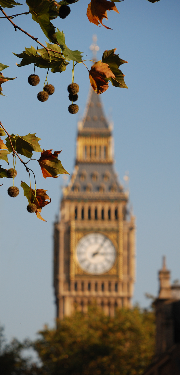 El famós Big Ben.