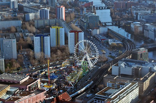 El riu Spree travessa la ciutat de Berlín