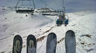 Esquiant a Andorra