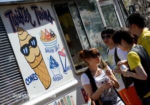 Uns gelats per combatre el sol