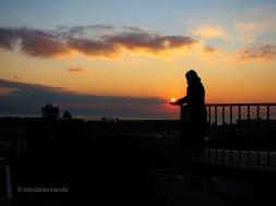 Juguem amb la posta de sol a Lausanne