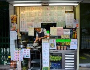 Hong Kong és ple de paradetes de menjar