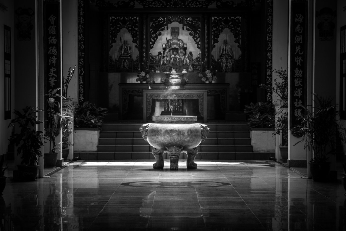 Buddhist-temple by .
