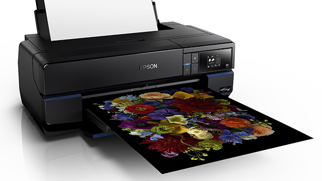 l'imprimante Epson P800 avec laquelle j'imprimerai vos clichés