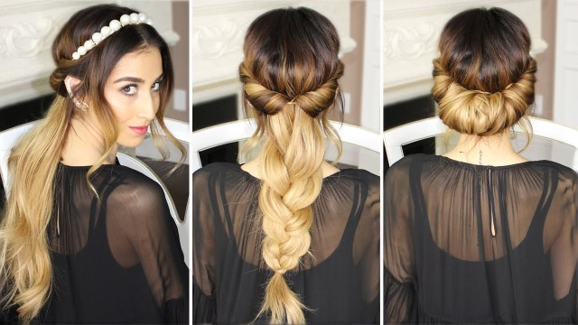 easy styles with a headband - the original mane 'n tail
