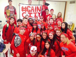 #TBT last year's junior class gets ready for the Pep Rally and wins the spirit stick.