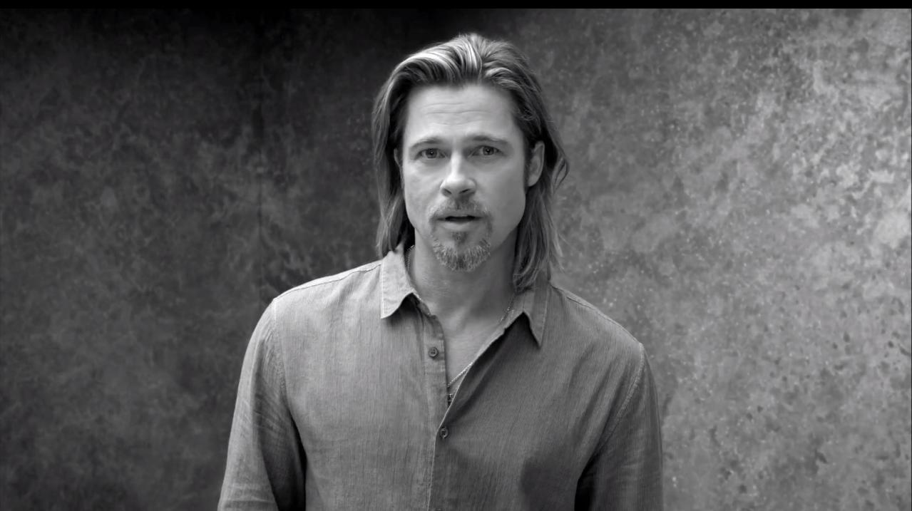 Brad Pitt for Chanel N°5
