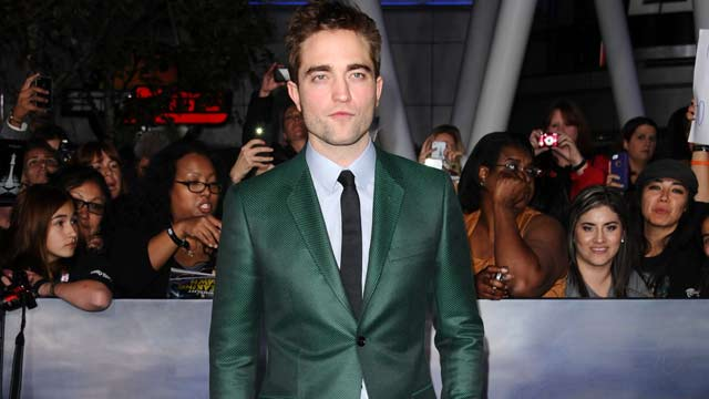 Robert Pattinson - Emerald Green Gucci