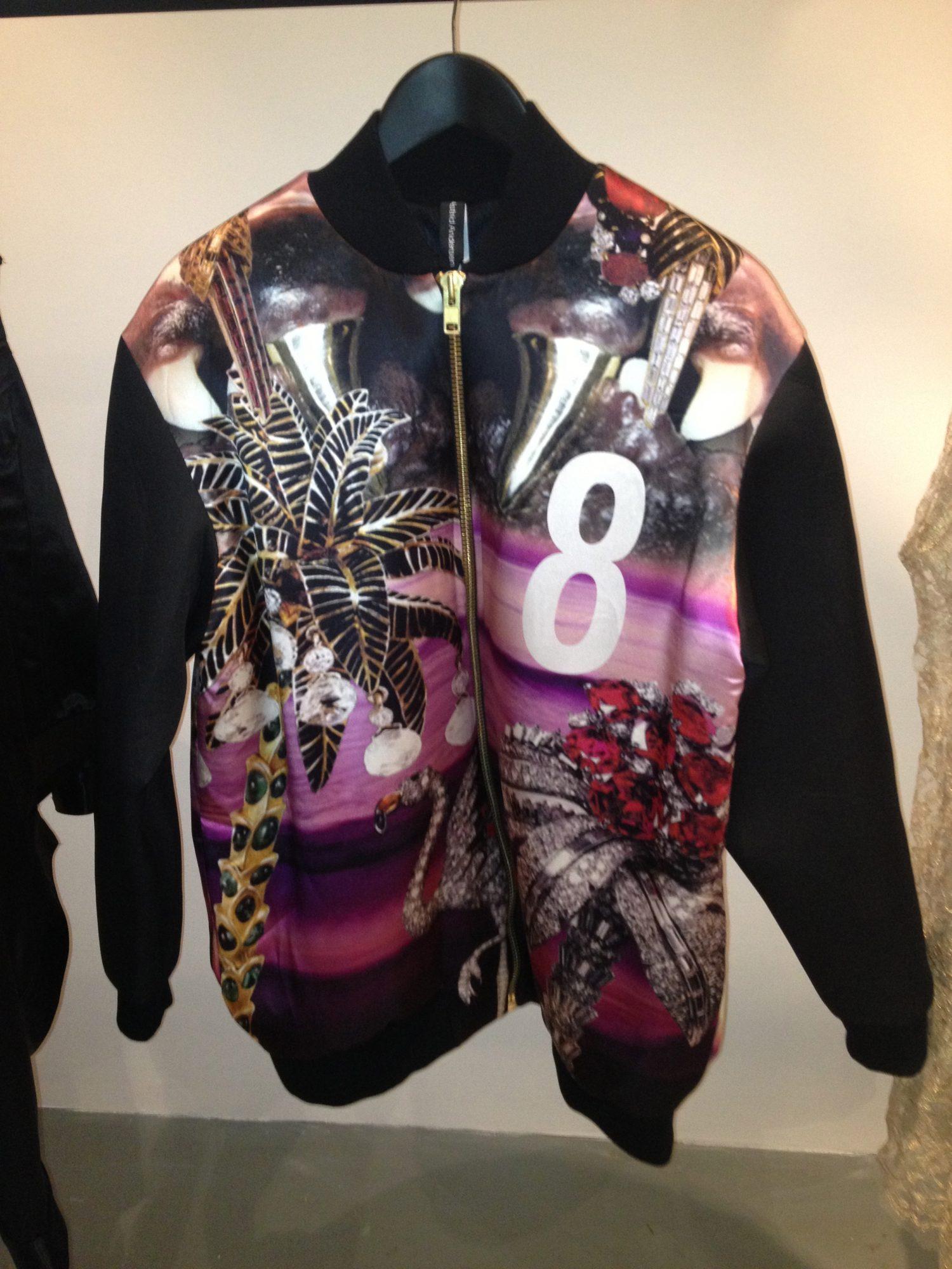 Astrid Andersen   Digital Print Jacket   SS12   £500