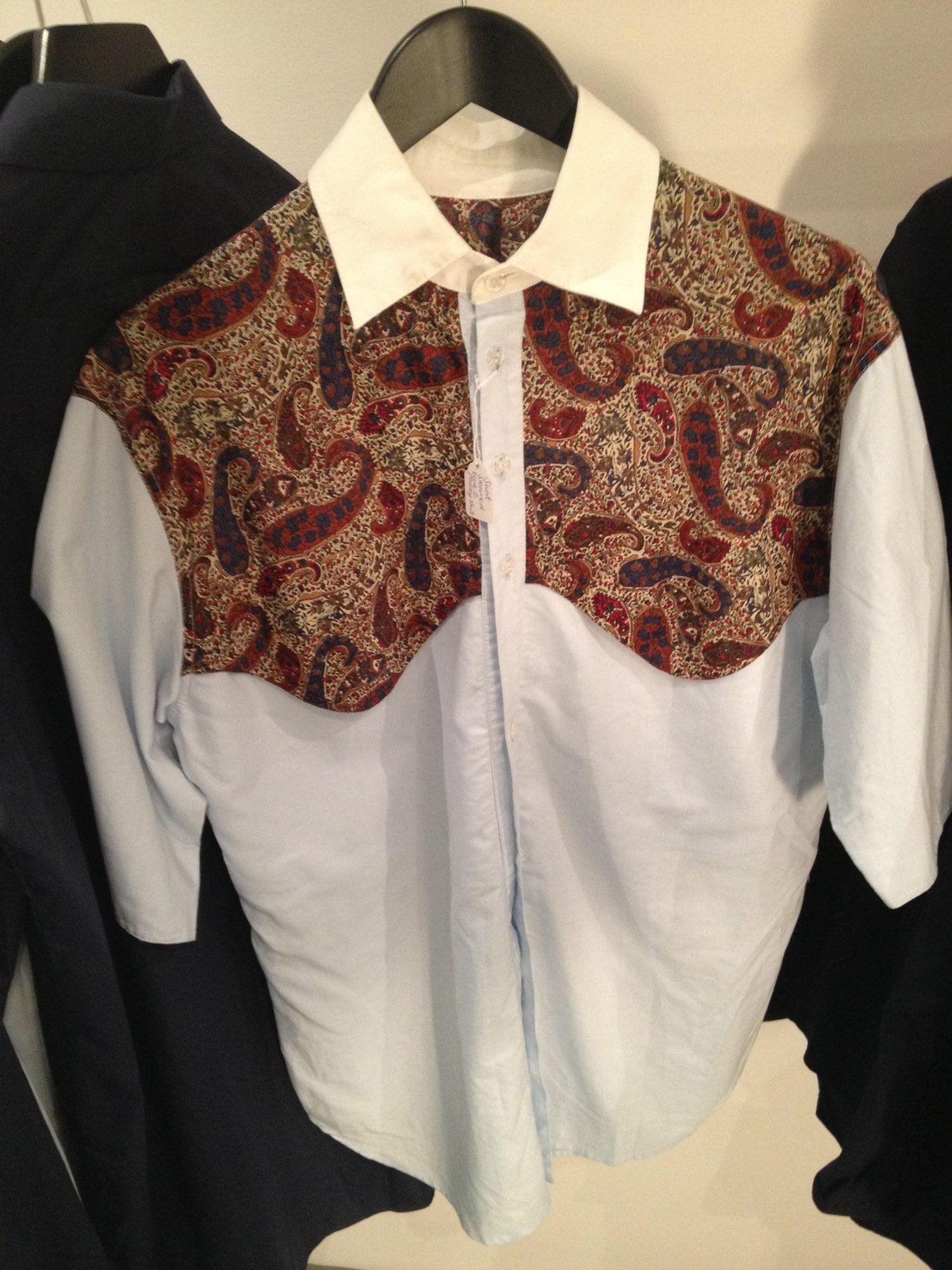 Martine Rose   £130   Paisley Shirt