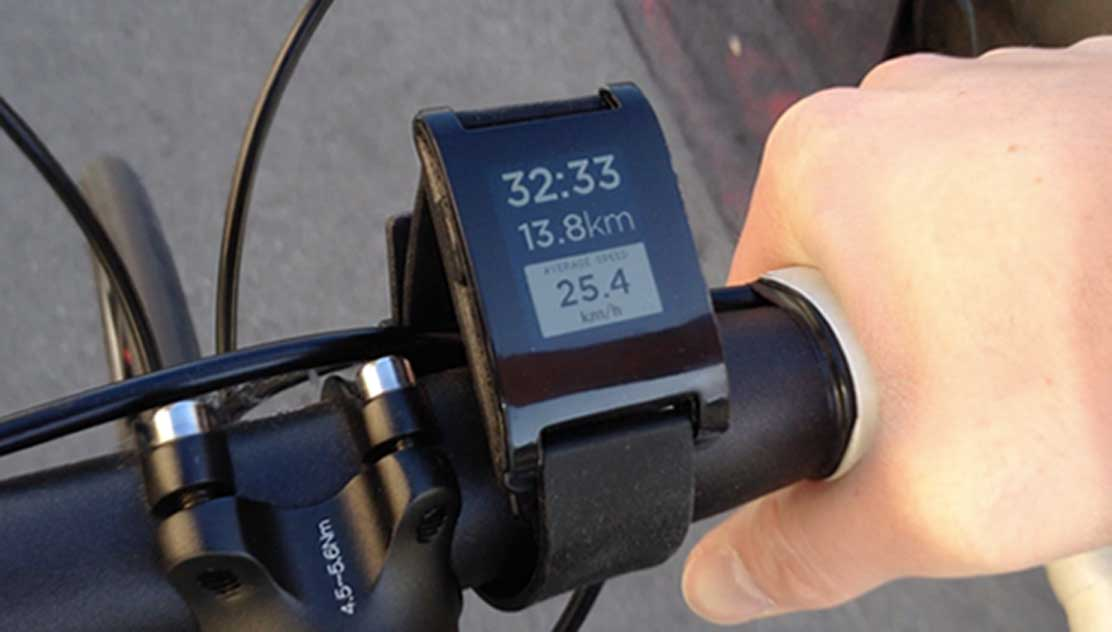 Pebble-iPhone-Watch-Cycling