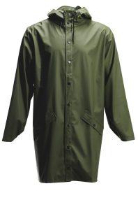 Rains-Denmark-Long-Raincoat-Green