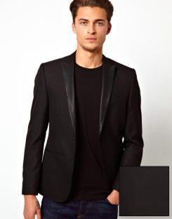 ASOS_Black_Blazer_PU_Leather_Lapel