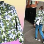 Street Style | Hawaiian Print Jacket