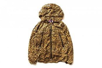 The-North-Face-Purple-Label-2013-Leopard-Print-Waterproof-Jacket-Hooded-Hood