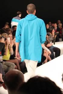 YMC-LCM-SS14-Back-Bright-Blue-Full-Length-Raincoat