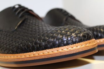 Clarks-SS14-Woven-Navy-Shoe