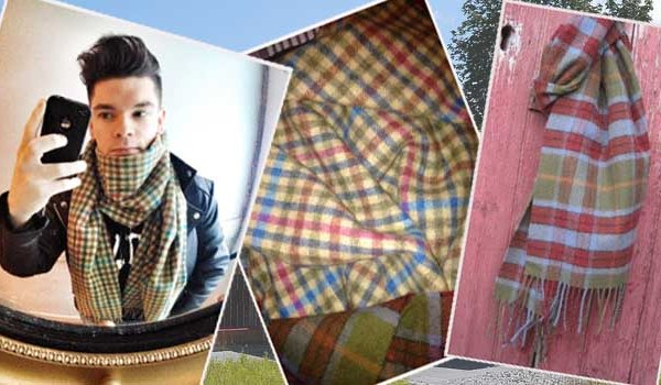 Lambswool and Tartan – the Perfect Partners
