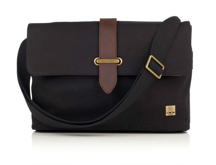 Knomo-Troon-Messenger-Black
