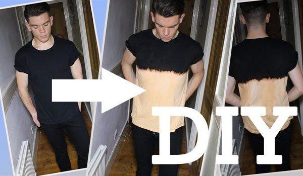 DIY Dip Dye/Ombre T-Shirt | How To